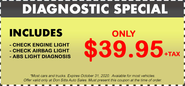Diagnostic Specials Coupon